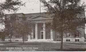 Nash Hall 1909