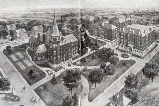 Campus Layout 1901