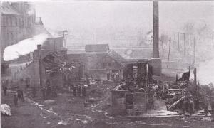 Electrical Shop After Fire (1911)