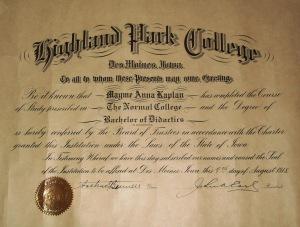 1918-Diploma