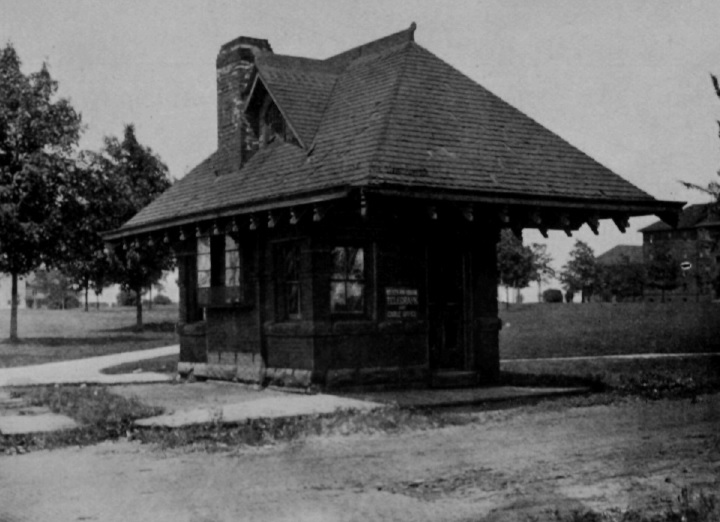 Streetcar waiting room
