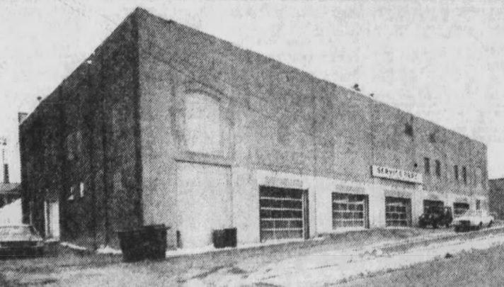 1982 Autoparts store
